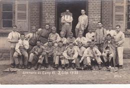 Carte Postale Photo  Militaire Bitche 1922 Dep 57 - Bitche