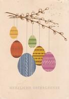 Postcard Herzliche Ostergrusse My Ref  B22423 - Easter