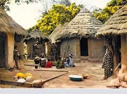 Afrique  En Couleurs -Village Africain (3)   ( Hoa Qui  N°3481) -*PRIX FIXE - Non Classés