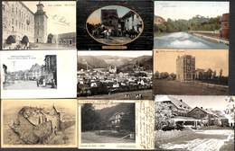 Belgique - Lot Très Soigné De 55 Cartes (Huy, Malmedy, Seraing, Gare, Colorisée, Précurseur.....voir Scans) - Cartes Postales