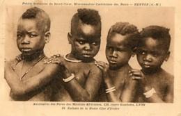 CPA Enfants De La Haute Cote D'ivoire.  1931. - Africa