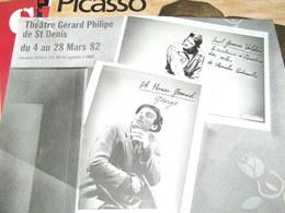 Affiche - Théatre Gérard Philipe De St Denis  - Acteurs Divers -  De Mars 1982 - Manifesti