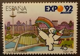 ESPAÑA 1990 Exposición Universal De Sevilla. USADO - USED. - 1931-Hoy: 2ª República - ... Juan Carlos I