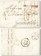 AR81) GREAT BRITAIN - London To Grenoble - 1828 - ...-1840 Prephilately