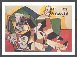 Antigua - 1993 Pablo Picasso Block MNH__(TH-4096) - Antigua And Barbuda (1981-...)