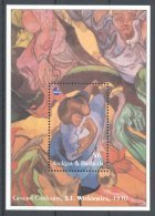 Antigua - 1993 Polish Painters Block MNH__(TH-10020) - Antigua And Barbuda (1981-...)