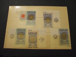 PARAGUAY - 1965 MEDAGLIE OLIMPICHE 5 VALORI - NUOVI(++) - Paraguay