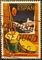ESPAÑA 1987 Navidad. USADO - USED. - 1931-Hoy: 2ª República - ... Juan Carlos I