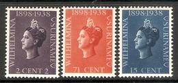 006502 Surinam 1938 Coronation Set MH - Surinam ... - 1975
