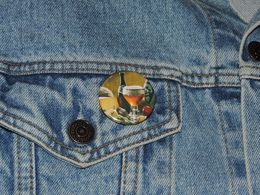 Pin Button Badge Ø38mm ORVAL (bière) 5 - Beer