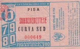 ** PISA - SAMBENEDETTESE.-Serie B.-1979/80.** - Other