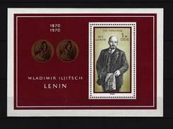 DDR - Block Nr. 31 - 100. Geburtstag Lenin Postfrisch - Blocks & Kleinbögen