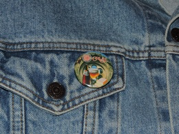 Pin Button Badge Ø38mm ORVAL (bière) 6 - Beer