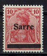 Saargebiet 1920 // Michel 6 ** (019.047) - Abstimmungsgebiete