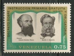 A 1970 VENEZUELA: Educación Gratuita - Venezuela