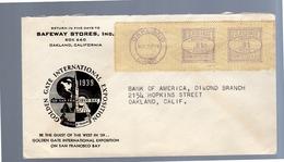 Oakland Great Meter Mark In Violet Golden Gate International Exposition (446) - United States