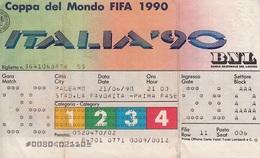 """** ITALIA """"90.-COPPA DEL MONDO.-STADIO LA FAVORITA.-(PA).** - Other"""