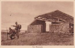 AK Deutsche Soldaten - Vor Bissenjek - Feldpost 1. Bataillon Feldrekrutendepot - 1917 (33746) - Guerre 1914-18