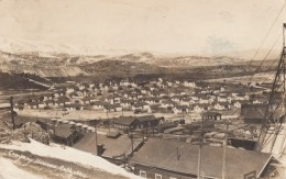 Ruth Nevada, Company Houses Robinson Copper Mine Town, C1910s Vintage Real Photo Postcard - Verenigde Staten