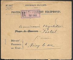 CM 113  Correspondance Militaire Griffe Linéaire Trésor Et Postes N°(SP)103 69ème Division D'Infanterie De Réserve - Marcophilie (Lettres)