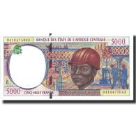 Billet, États De L'Afrique Centrale, 5000 Francs, 1994, 1994, KM:204Ea, NEUF - États D'Afrique Centrale