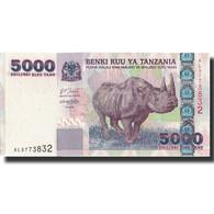 Billet, Tanzania, 5000 Shilingi, Undated (2003), KM:38, NEUF - Tanzanie