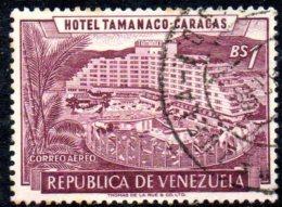 T943 - VENEZUELA  , Yvert N. 630  Usato Posta Aerea . - Venezuela