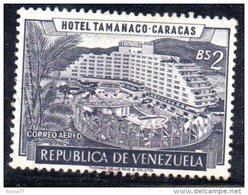 T942 - VENEZUELA  , Yvert N. 631  Usato Posta Aerea . - Venezuela