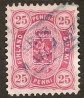 Finland Suomi 1881-82 25 Penni - Perforation 12½ - 1856-1917 Russian Government