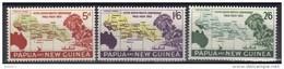 W579 - PAPUA NUOVA GUINEA  1962,  Yvert N. 47/49  MNH. - Papua Nuova Guinea