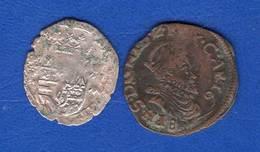 Espagne  Pays -bas  2  Pieces  A  Identifie - Spagna