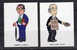 I Vip Di Forattini Presentati Da Repubblica - - Stickers