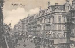 BRUXELLES - Boulevard Anspach - Lanen, Boulevards