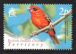 BIOT 2004 Definitives (Birds) 2p: Single Stamp UM/MNH - British Indian Ocean Territory (BIOT)