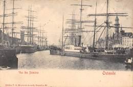 OSTENDE - Vue Des Bassins - Oostende
