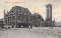 OSTENDE - Vue Générale De La Gare - Oostende
