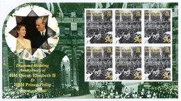 BIOT 2007 Royal Diamond Wedding Anniversary 54p: Sheet Of 6 Stamps UM/MNH - British Indian Ocean Territory (BIOT)