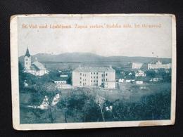 Slovenia Osrednja 6157 St Vid Nad Ljubljanom 1910 Reservespital St Veit Bei Laibach - Slovénie