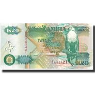 Billet, Zambie, 20 Kwacha, 1992, 1992, KM:36a, NEUF - Zambie