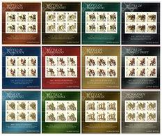 BIOT 2010 Great Battles: Set Of 12 Sheets UM/MNH - British Indian Ocean Territory (BIOT)
