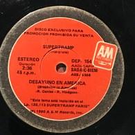 Sencillo Argentino De Supertramp Año 1980 - Rock
