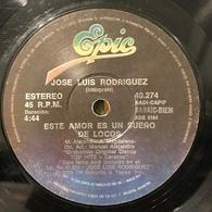 Sencillo Argentino De José Luis Rodríguez Año 1979 - Vinyl Records