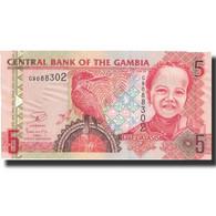 Billet, The Gambia, 5 Dalasis, 2013, 2013, KM:25, NEUF - Gambie