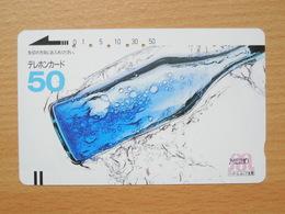 Japon Japan Free Front Bar, Balken Phonecard  / 110-7483 / Meiho / Bottle - Japan