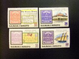 SAMOA 1977 Centanaire Du Timbre Yvert N 396 / 99 ** MNH - Samoa