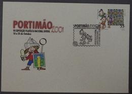 Portugal - Disney Luisinho Zezinho Huguinho Portimão 2001 - Tiles Stamp - Cómics