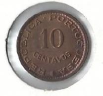 Mozambique - $10 Centavos 1961 - UNC - Mozambique