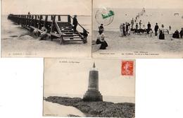 La Baule X 3 - Chèvres Sur Plage, Estacade, Tour Rouge - La Baule-Escoublac