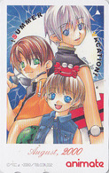 Télécarte Japon / 110-016 - MANGA / 2000 AUGUST - Série Animate Magazine - Japan Phonecard - 10215 - Comics