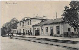 CPA Lituanie Lituania Non Circulé Siauliai Stotis Gare Station Chemin De Fer - Lithuania